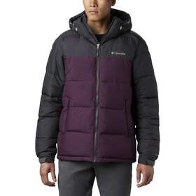 Columbia Pike Lake Kapuzenjacke Herren black cherry/shark